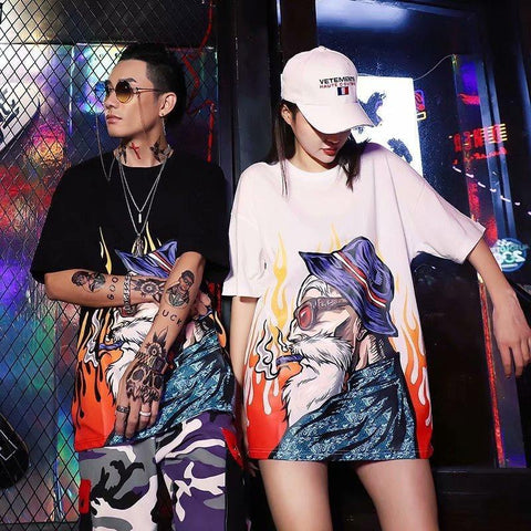 T-Shirt Dragon Ball<br/> Streetwear Asiatique