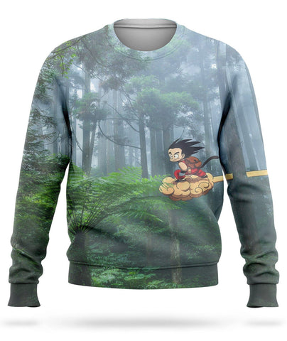 Pull Dragon Ball <br/> Nuage Supersonique