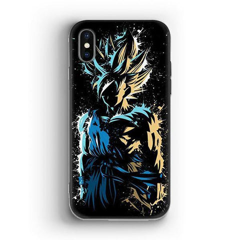 Coque DBZ iPhone<br/> Son Goku SSJ