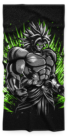 Serviette Dragon Ball Z</br> Broly