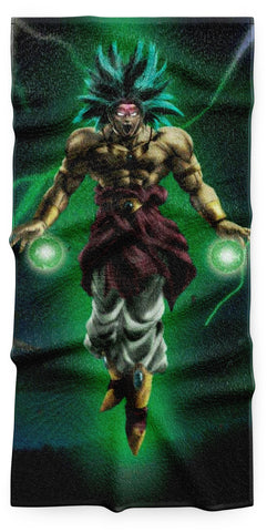 Serviette Dragon Ball Z</br> Broly Saiyan Légendaire