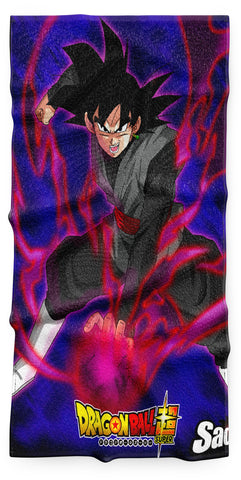 Serviette Dragon Ball</br> Bataille Black Goku