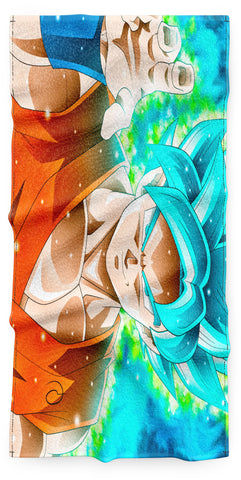 Serviette Dragon Ball</br> Son Goku Super Saiyan Blue