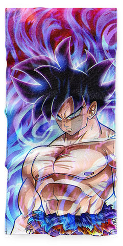Serviette Dragon Ball</br> Goku Ultra Instinct