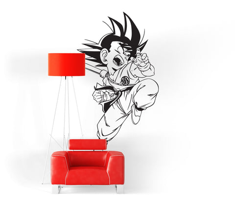 Sticker Mural Dragon Ball</br> Sangoku Petit Combattant