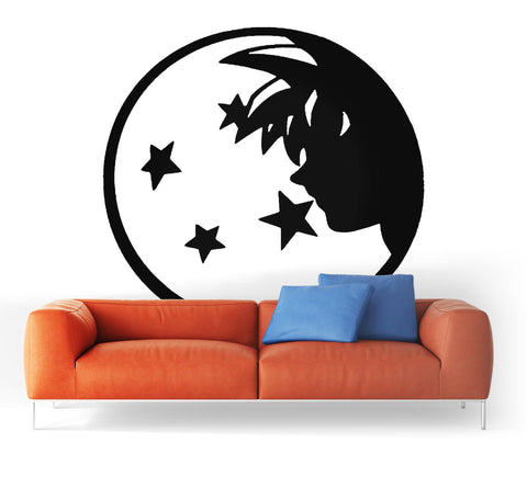 Sticker Mural Dragon Ball</br> Épopée Saiyan