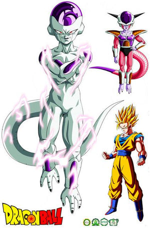 Sticker Mural Dragon Ball</br> Saga Freezer