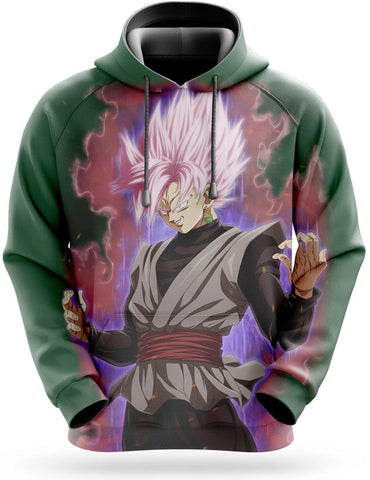 Sweat Dragon Ball Super <br/> Goku Black SSJ Rosé