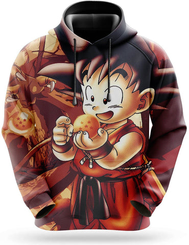 Sweat Dragon Ball <br/> Boule de Cristal 4*