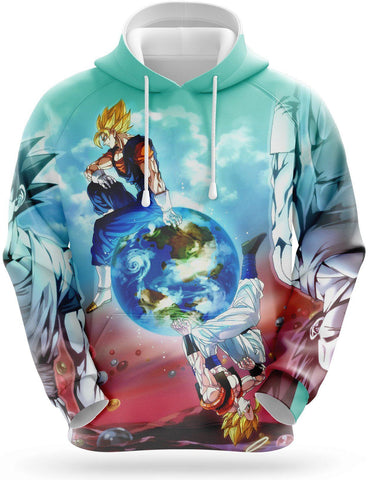 Sweat Dragon Ball <br/> Vegeto & Gogeta