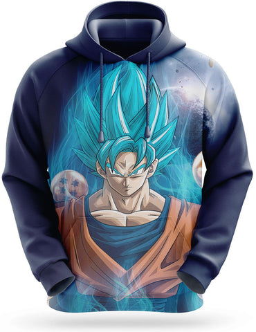 Sweat Dragon Ball Super <br/> Goku Blue Aura