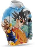 Sweat Dragon Ball Z <br/> Pincée de Sel