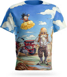 T-Shirt Dragon Ball Z<br/> Goku & Kame Sennin