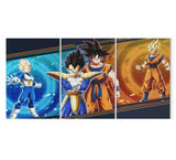 Tableau Dragon Ball</br> Goku & Vegeta