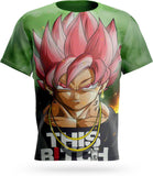 T-Shirt Dragon Ball Super<br/> Goku Black SSJ Rosé