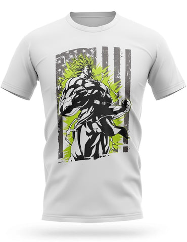 T-Shirt Dragon Ball Z<br/> Broly American Style