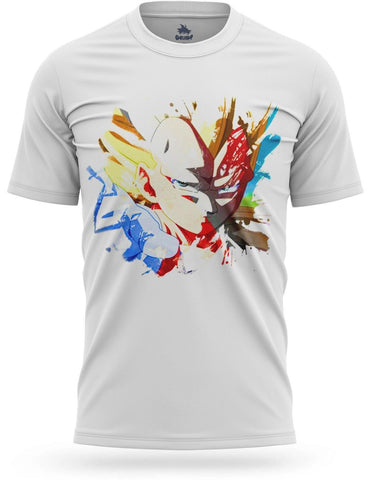 T-Shirt Dragon Ball Z<br/> Vegeta 3D Design