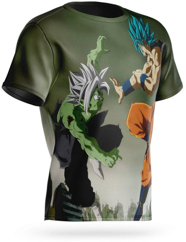 T-Shirt Dragon Ball Super<br/> Goku vs Zamasu Fusion