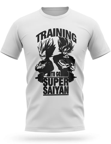 T-Shirt Dragon Ball Z Musculation <br/> SSJ Training