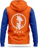 Veste Polaire DBZ<br/> Orange & Bleu