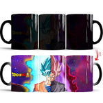 Mug Thermosensible DBS <br/> Goku Blue vs Goku Black