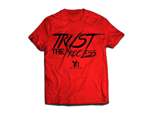 Trust the Process Tee - Red