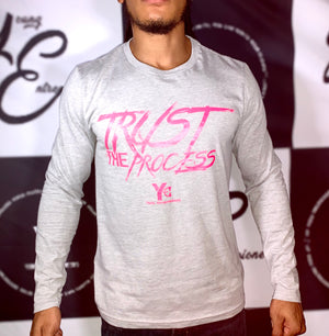 TTP Grey/Pink Long Sleeve