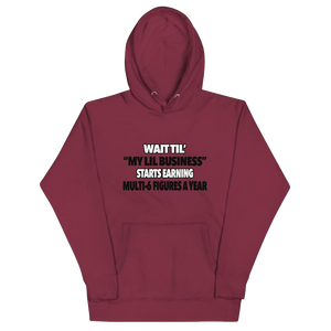 SIX FIGURE BUSINESS Hoodie