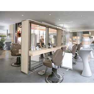 Transparenter Roll-Up (Coiffeur)