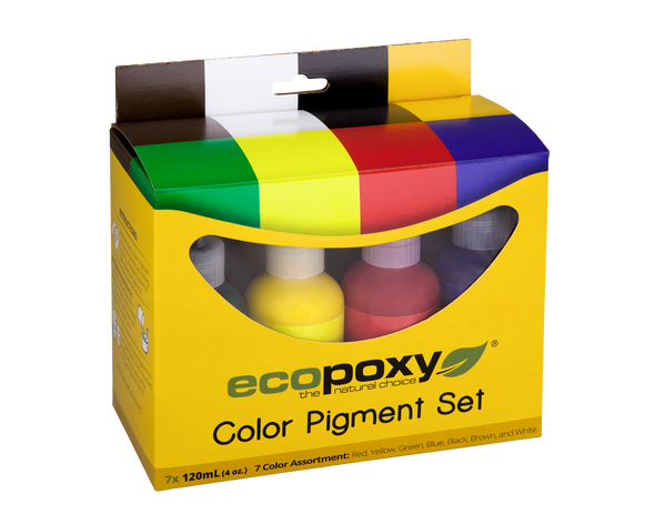 7pc Colour Pigment Set