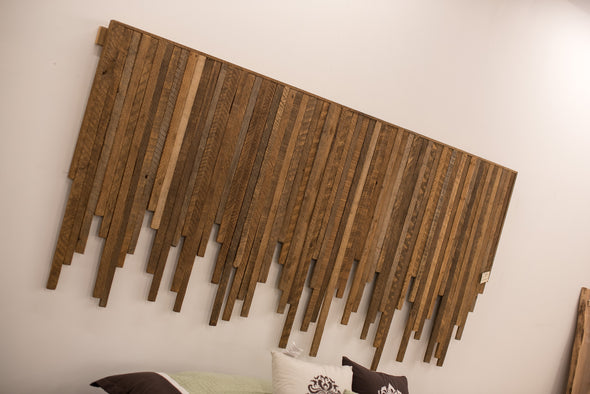 Tobacco Slat Headboard