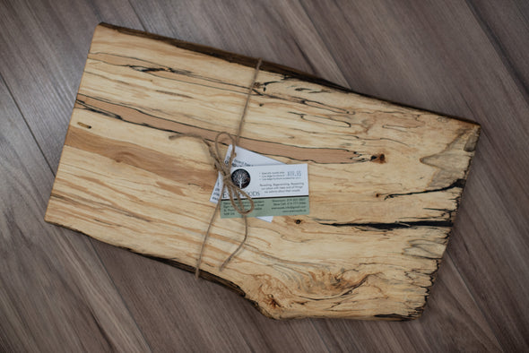 Live Edge Charcuterie Board - C137 - SOLD