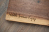 Engraved Live Edge Charcuterie Board - C203
