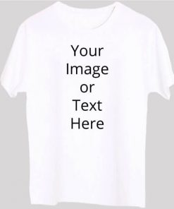 Men Customized T Shirt with Image