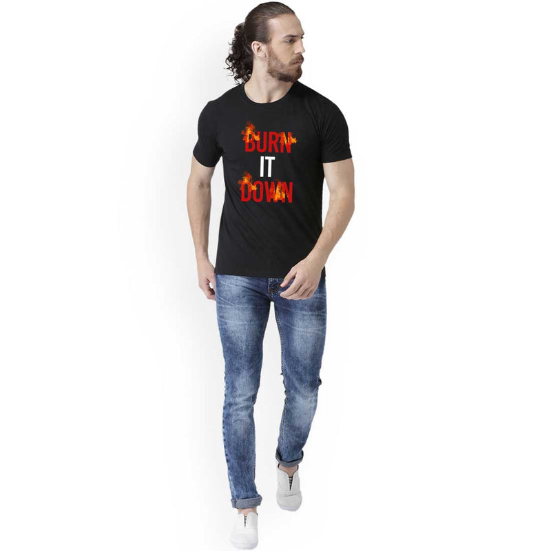 Burn It Down Men T-Shirt