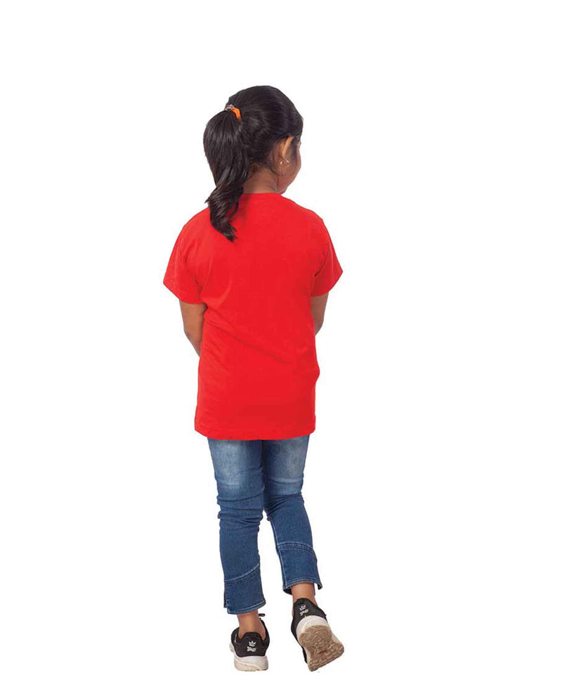Cat Half Sleeves T-Shirt For Kids
