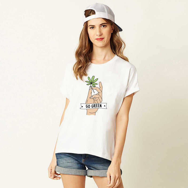 Go Green Women T-Shirt