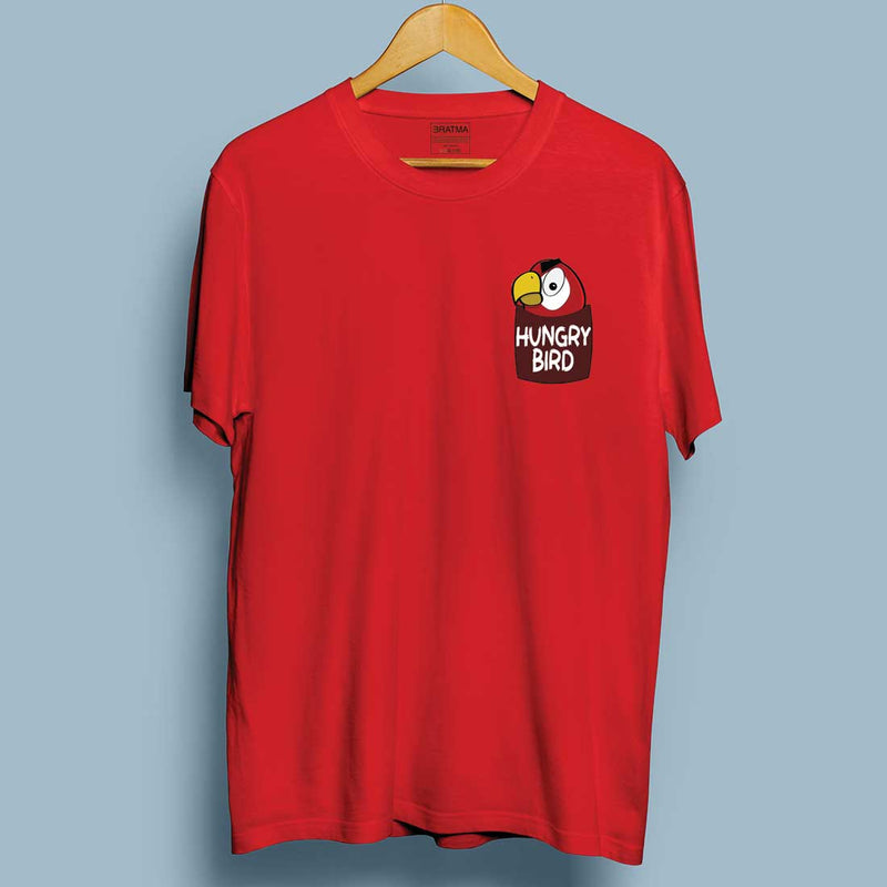 Hungry Bird Red Men T-Shirt