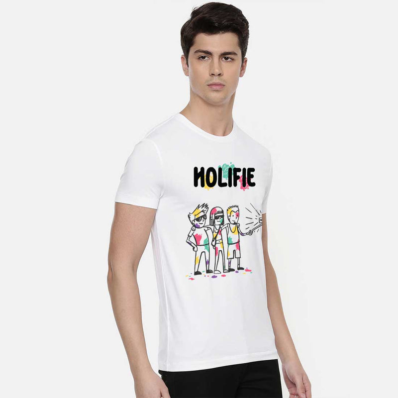 Holifie White Men T-Shirt