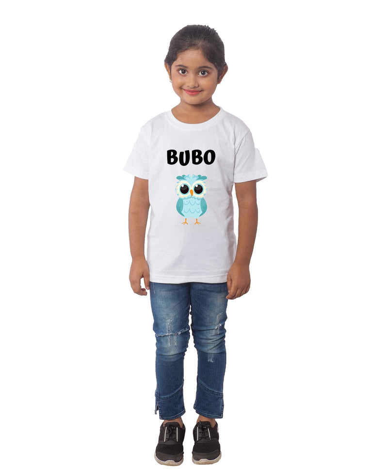 BUBO Half Sleeves T-Shirt For Kids