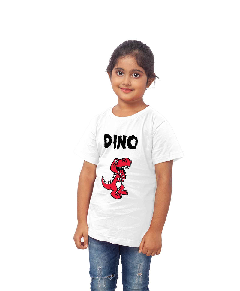 DINO Half Sleeve T-shirt For Kids