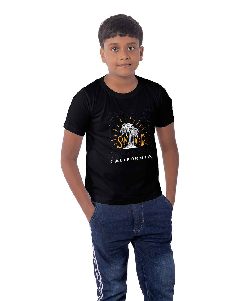 San Diego Half Sleeves T-Shirt For Kids