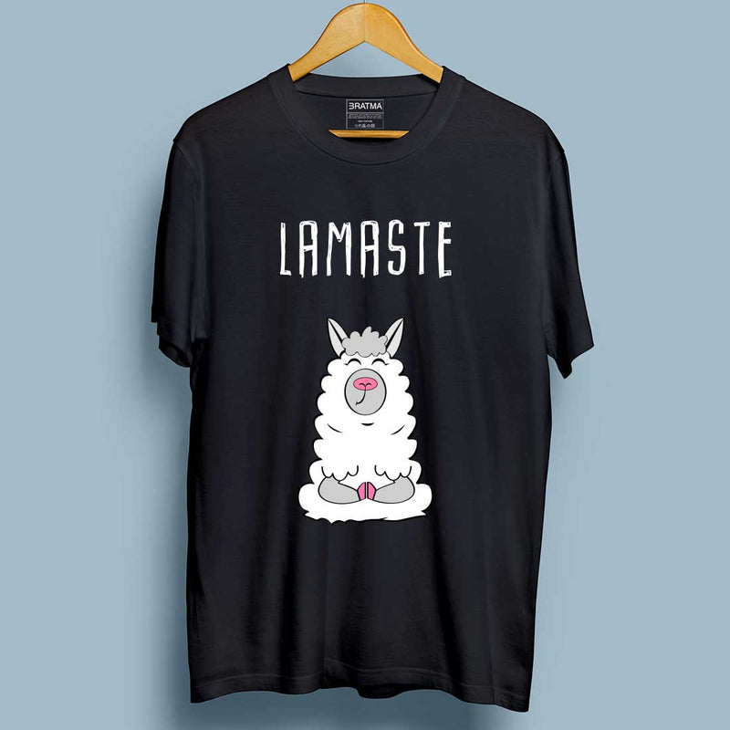 Lamaste Black Men T-Shirt