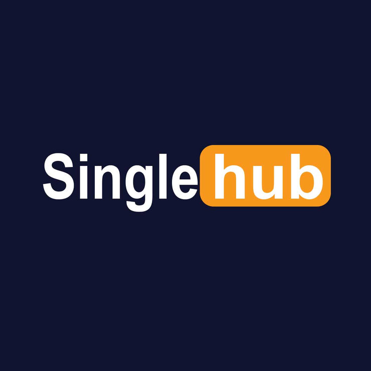 Single Hub Blue Men T-Shirt