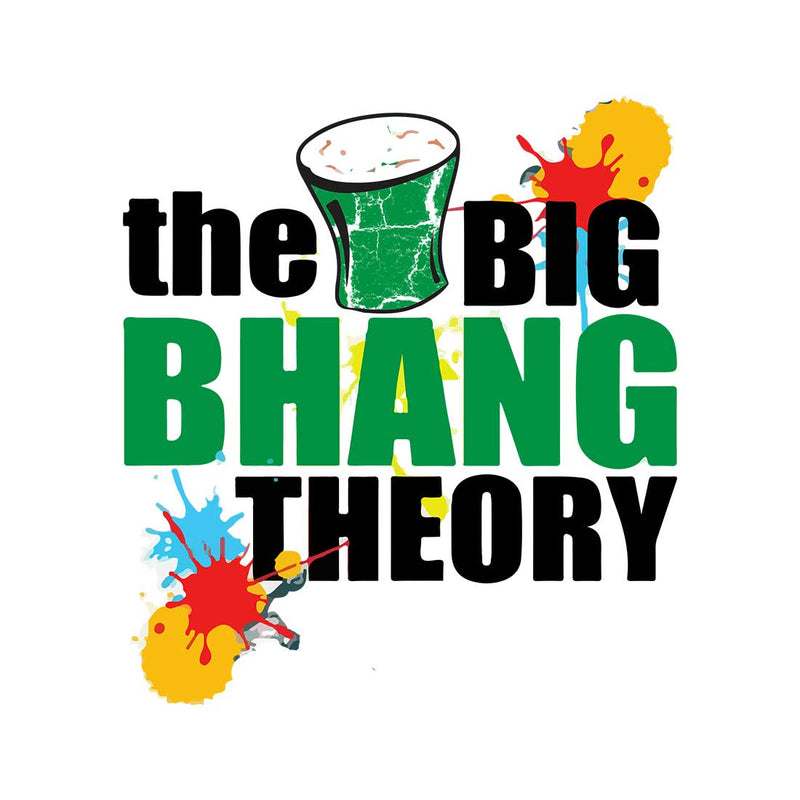 The Big Bhang Theory White Men T-Shirt