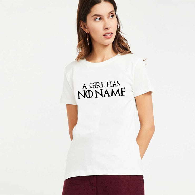A Girl Has No Name White Women T-Shirt
