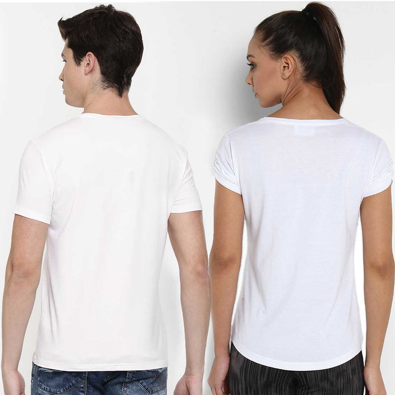 Fly Love White Couple Tees