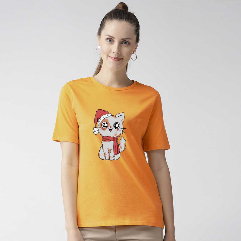 Cute Cat Women T-Shirt
