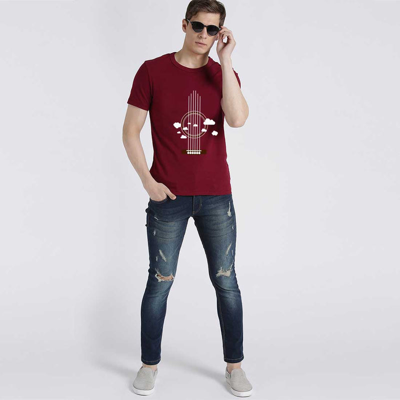 Guiter Men T-Shirt