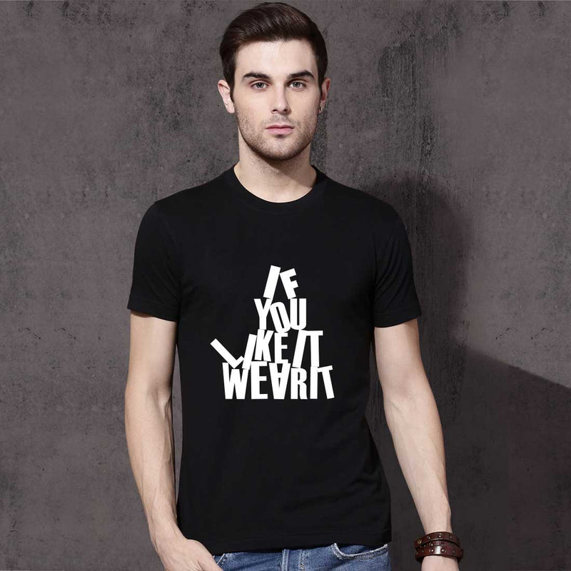 If You like It Black Men T-Shirt